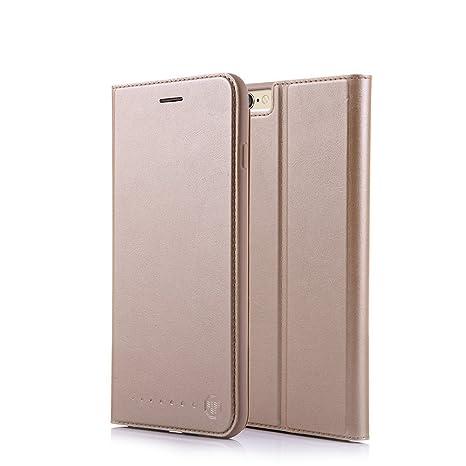 Nouske Funda Tipo Cartera para iPhone 6 y 6S de 4,7 Pulgadas de Apple