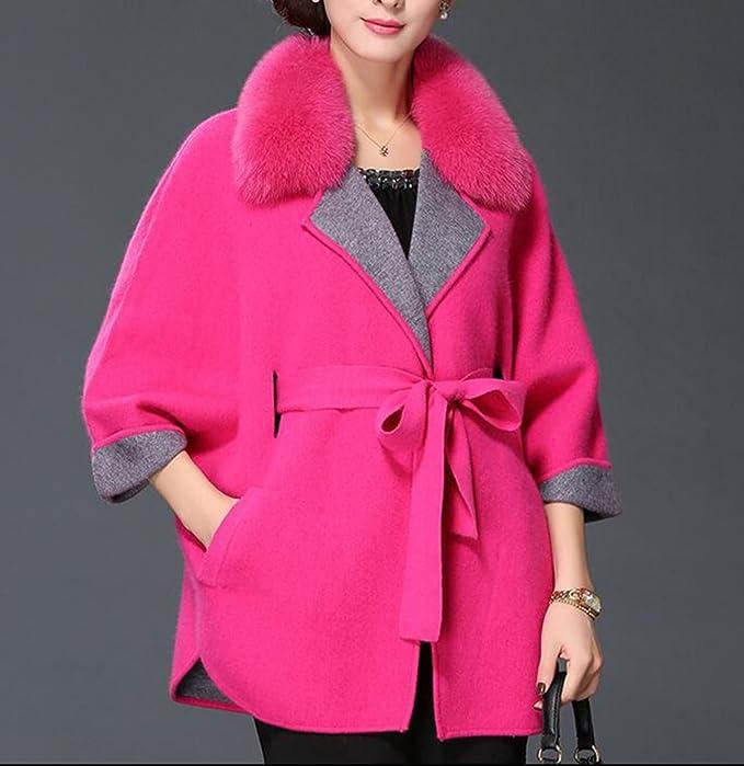 Abrigos De Abrigo Para Mujer Parkas Con Chaquetas Espese El Abrigo De Chamarra Cálida, Pink-XL: Amazon.es: Ropa y accesorios