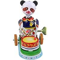Juguete de Cuerda Modelo Panda Baterista Oso