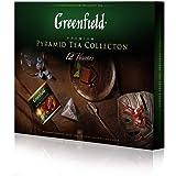 Greenfield Pyramid Tea Collection 12 Varietals 60 Bags, Gift Box 110g / 3,88oz