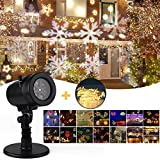 Christmas Projector Lights,Yegu Projection LED 14 Switchable Pattern Lens Indoor Outdoor Waterproof Rotating Landscape lamp for Holiday, Party, Birthday, Wedding, Kids Room, Home Decor Decoration