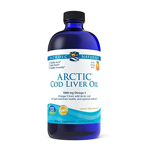 Magnus Arctic Cod Liver Oil Liquid & Capsules For Heart, Brain & Overall Health