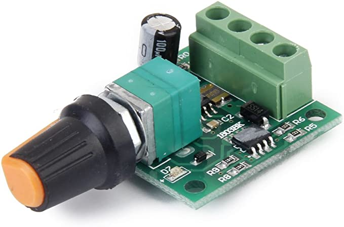 Spannung Dc 1 8v 3v 5v 6v 12v 2a Motor Drehzahlregler Pwm Einstellbar Schalter Elektronik
