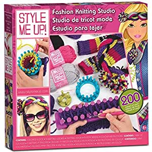Style Me Up Fashion Knitting Studio By Style Me Up Toys Games