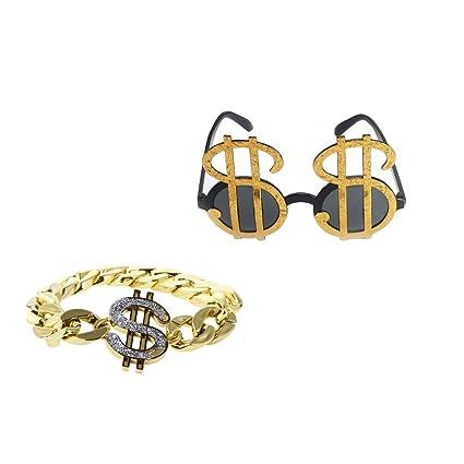 amazon com prettyia pack of 2pcs fancy dress shining us dollar