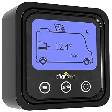 Offgridtec/® MPPT Pro Duo Laderegler 30A 12V 24V f/ür zwei Batteriekreisl/äufe
