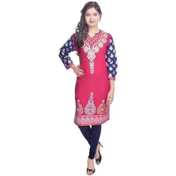 5b87006299a6 Vihaan Impex Indian Kurtis for Women Kurtis for Ladies Designer Kurti Kurta  Tunic  Amazon.co.uk  Clothing