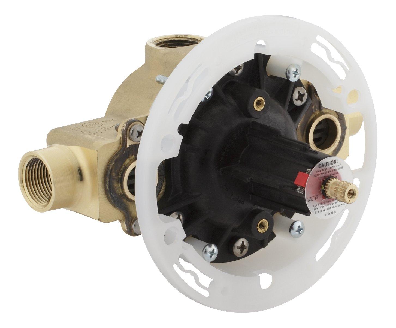 Kohler K-2971-KS-NA High Flow Rite-Temp Pressure Balancing Valve with Stops, Not Applicable by Kohler