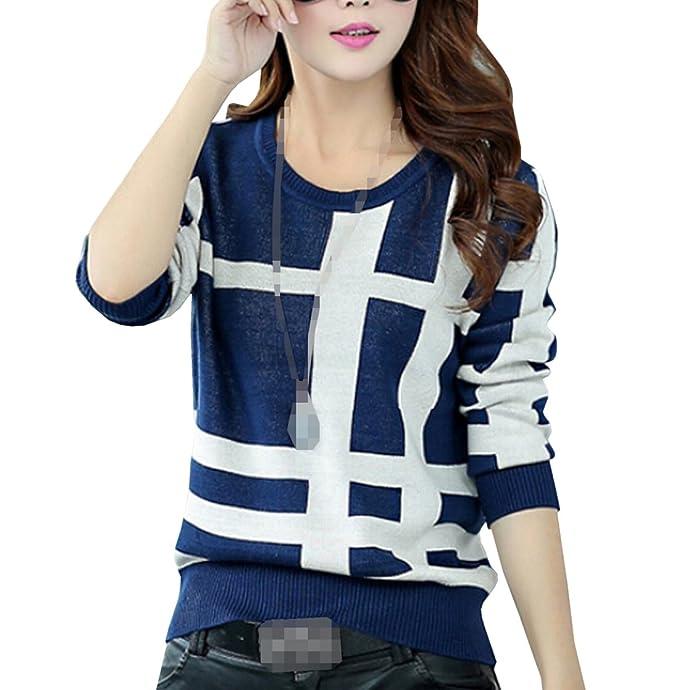 xinliya Abrigo de crochet Loose Jerseys Suéter Knitwear Outwear: Amazon.es: Ropa y accesorios