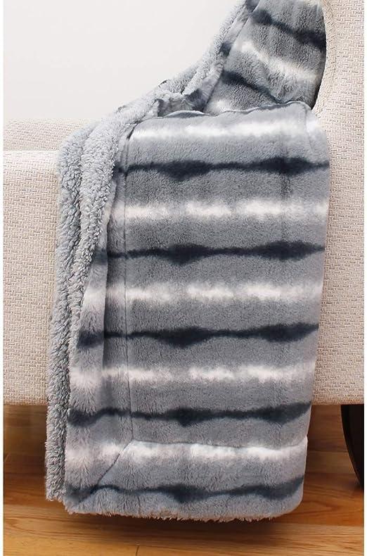 Amazon.com: Thro by Marlo Lorenz Throw Blanket, Trooper: Home
