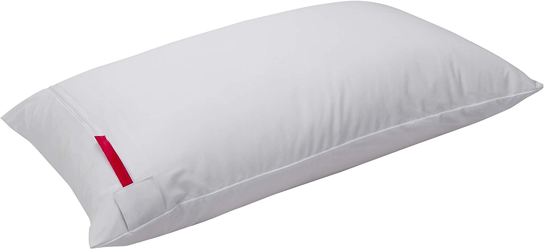 Pikolin Home - Funda de almohada impermeable, antichinches y transpirable, 40 x 90 cm (Todas las medidas)