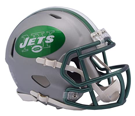 Image Unavailable. Image not available for. Color  NFL New York Jets  Alternate Blaze Speed Mini Helmet 7719eb8e3