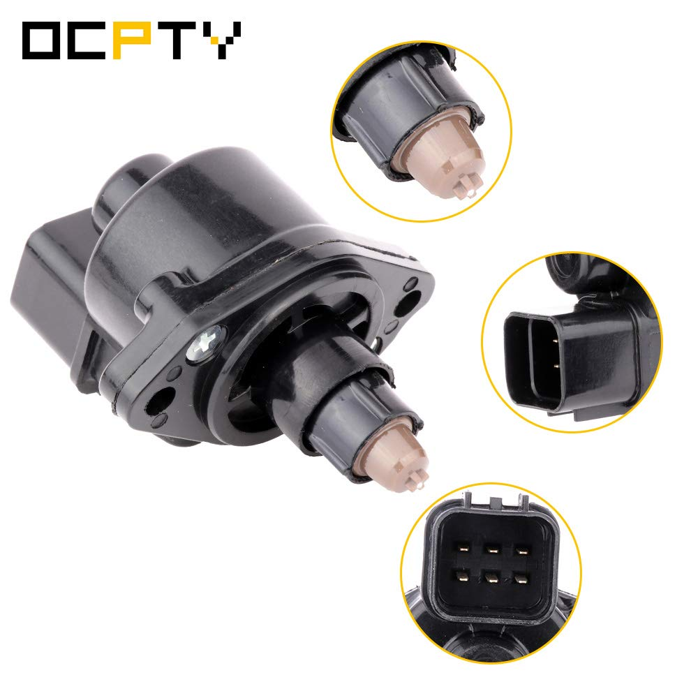 OCPTY 2H1098 Fuel Injection New Idle Air Control Valve FIT for 1990 1991 Dodge Colt 1990-1994 Mitsubishi Galant 1990-1999 Mitsubishi Eclipse 1992-1998 Hyundai Sonata 1992-1995 Hyundai Elantra