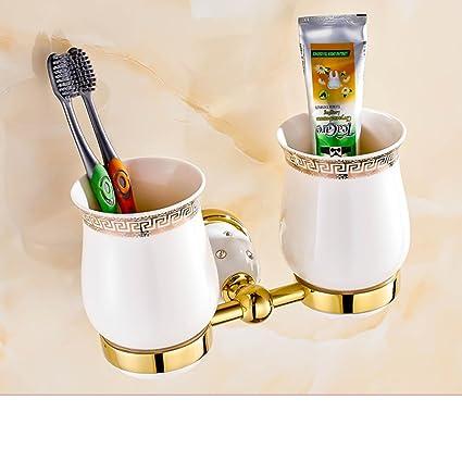 Copas continentales Copa cepillo de dientes titular de Mono/baño Copa/ Cepillo de dientes