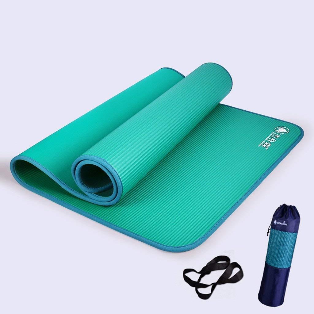 NBE Materassini da Yoga, ispessire allargare estesa Tappetino Fitness Antiscivolo Protezione Ambientale Esercizio Mat buona Elasticità