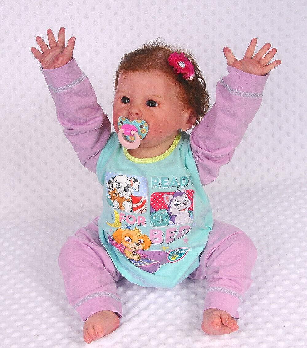 Schlafanzug PAW Patrol Baby Kinder Pyjama Set 80 86 92 98 104 Hose Anzug Lila
