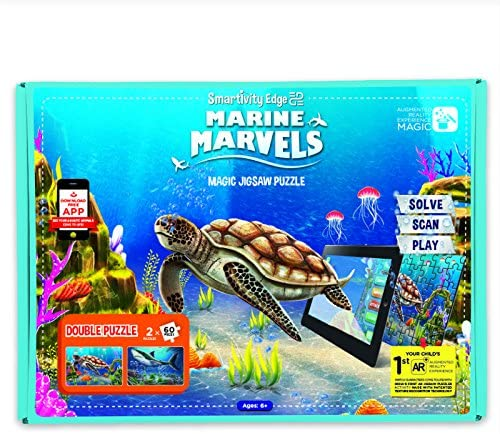Smartivity Edge Marine Marvels Augmented Reality Jigsaw Puzzle