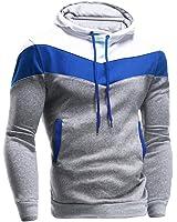 Eleery Men Hoodie Warm Jacket Coat Sweater Outwear Winter Sweatshirt