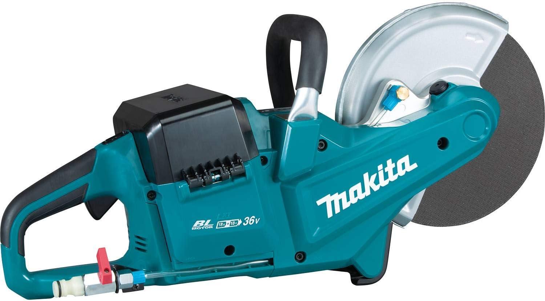 Makita DCE090ZX1 DCE090ZX1-Cortador BL 18Vx2 LXT 230mm, 36 V, Negro