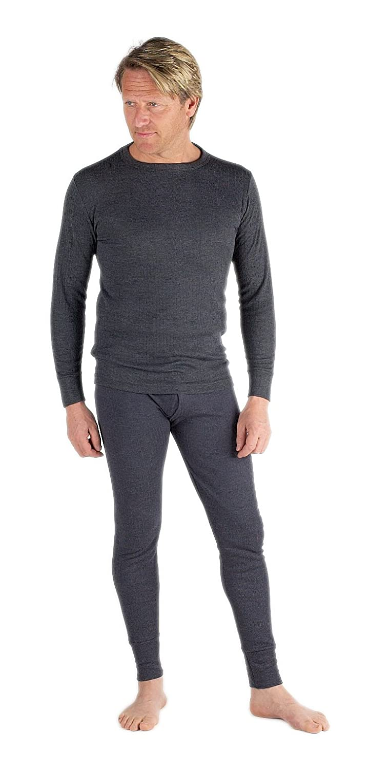 2 Mens Thermal Set Long Sleeve Vest and Long Johns