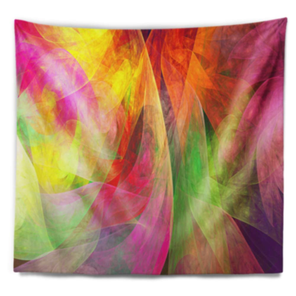 Designart TAP15554-60-50  Spectacular Multi Color Pattern Floral Blanket D/écor Art for Home and Office Wall Tapestry Large x 50 in Created On Lightweight Polyester Fabric 60 in