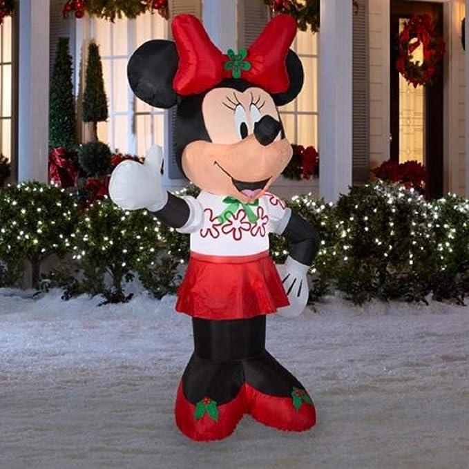 Gemmy Minnie Mouse Inflable de 6 pies Decoración de día Festivo ...