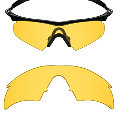 381524c67b5 Mryok+ Polarized Replacement Lenses for Oakley M Frame Hybrid - HD Yellow