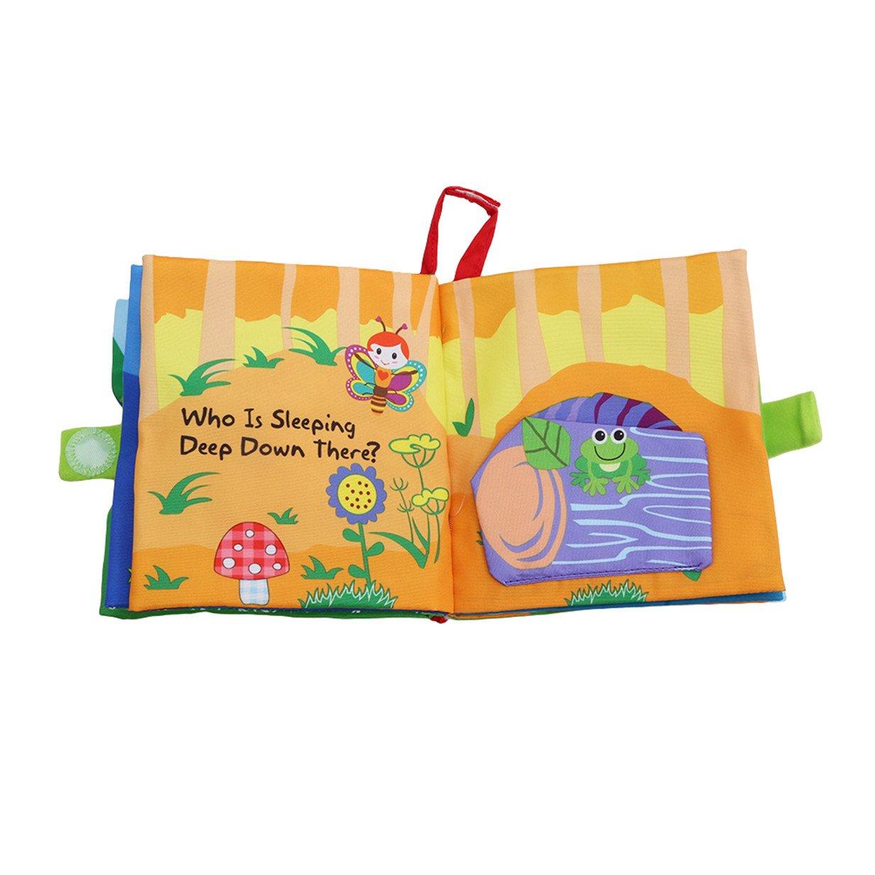 fille Lalang Livre tissu souple en tissu pour b/éb/é Intelligence development livre jouet /éducatifs