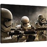 DELESTER DESIGN PPD1915O1 Star Wars VII Le Réveil de la Force Tableau d'Art Multicolore 100,0 x 3,0 x 75,0 cm