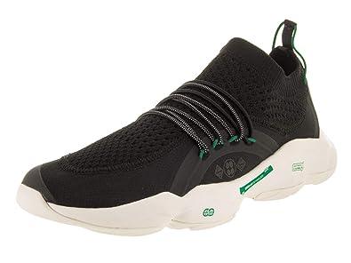 d9250fc79905b3 Reebok DMX Fusion Shoe Men s Casual 6.5 Black-Basil Green-Chalk Black Basil