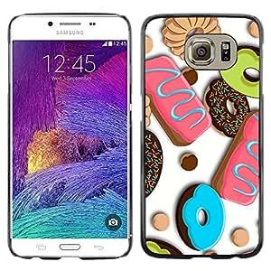 Welcome To The Candy Shop! - Metal de aluminio y de plástico duro Caja del teléfono - Negro - Samsung Galaxy S6