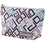 Cosmetic Bag for Women,Sunew Adorable Roomy Makeup Bags Lightweight Display Cases Travel Waterproof Toiletry Bag…