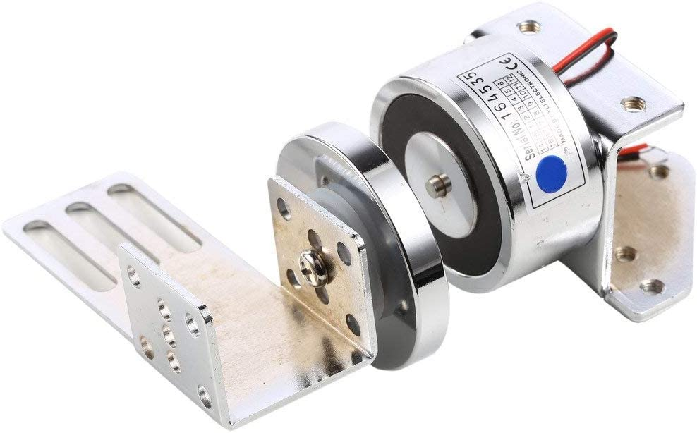 UHPPOTE 70KG 150Lbs Fuerzas De Retención 12VDC Auto-puerta Automática Puerta Especial Magnética Cerradura