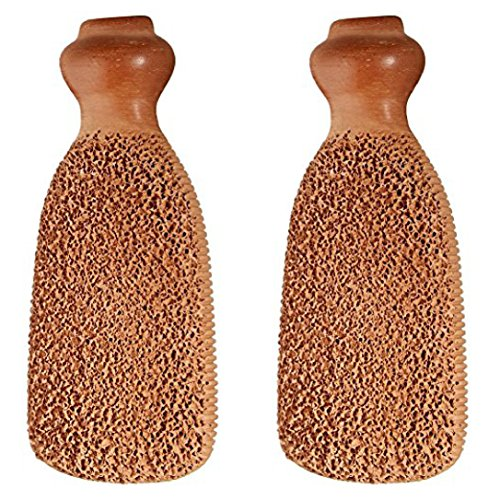Gilden Tree 2-Sided Terra-Cotta Foot Scrubber (Set of 2) by Gilden Tree (Image #5)
