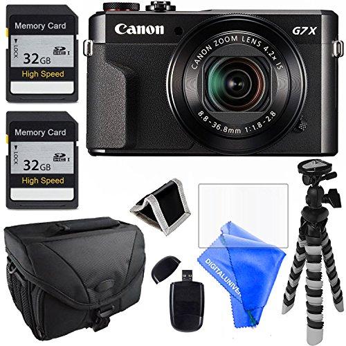 Canon PowerShot G7 X Mark II Digital Camera - Wi-Fi Enabled