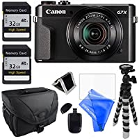Canon PowerShot G7 X Mark II Digital Camera - Wi-Fi Enabled + 12pc Bundle DIGITALUNIVERSE KIT