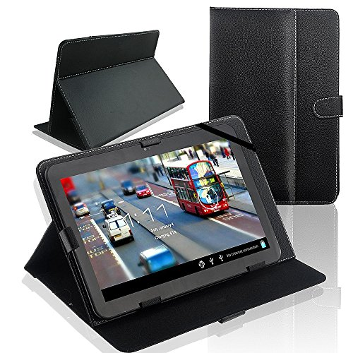 SQdeal Universal Folio PU Leather Stand Case Cover for 10'' Android Tablet PC MID -  TPL10-9B