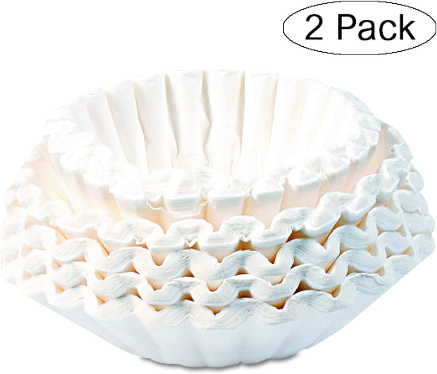 Bunn 1M5002 Commercial Coffee Filters, 12-Cup Size (Case von 1000) (Twо РасK, Original)