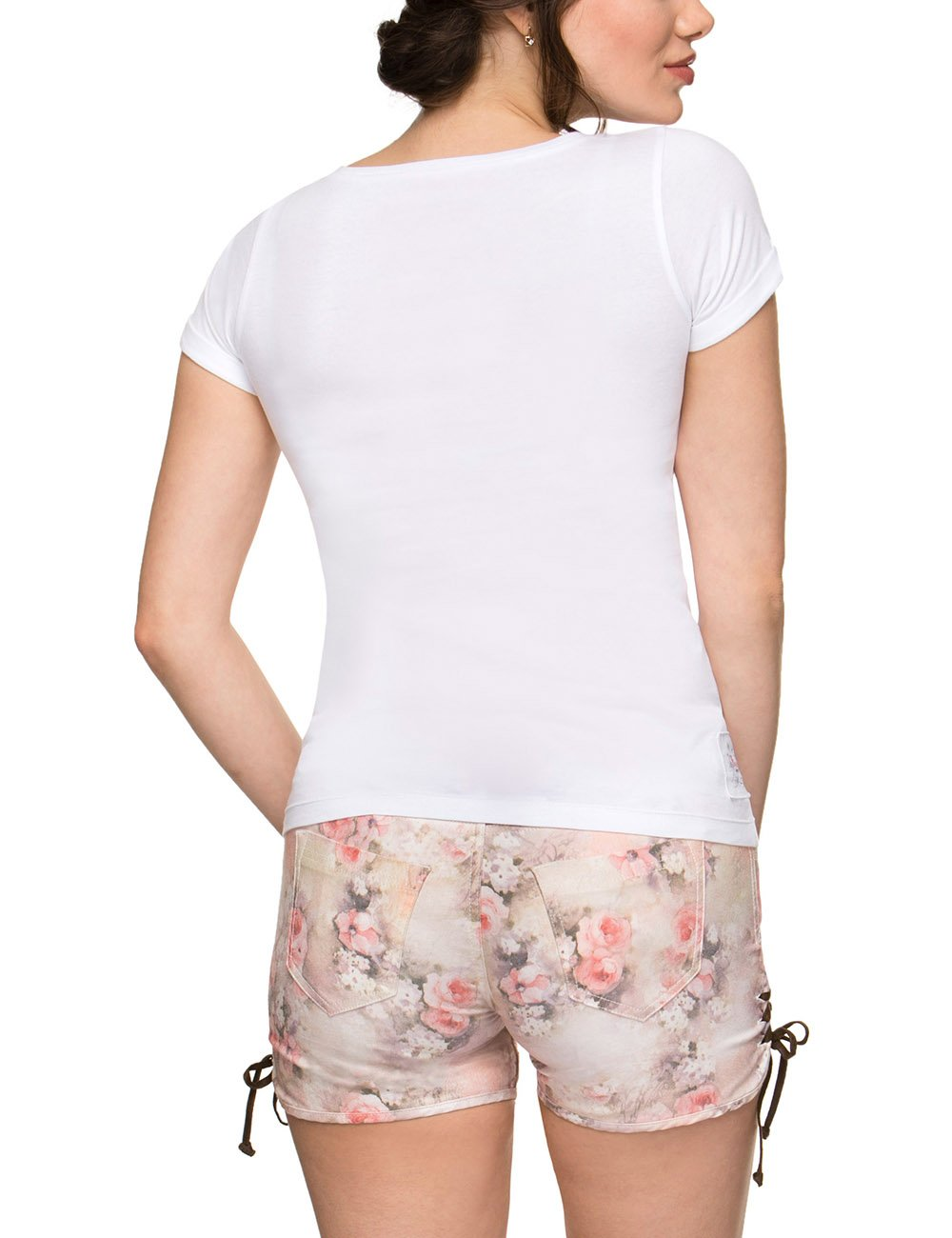 Bávarotirolés Para Shirt Estilo Nica Traje Camiseta Tradicional qw4gXZzx