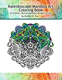 img - for Kaleidoscope Mandala Art Coloring Book: 30 Original, Abstract Mandala Designs to Color book / textbook / text book