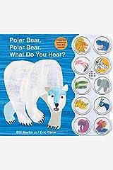 Polar Bear, Polar Bear What Do You Hear? sound book (Brown Bear and Friends) Board book