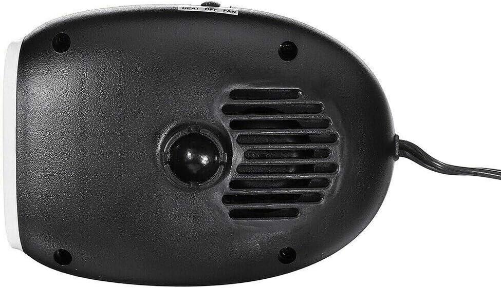 purificazione dellaria Riloer Riscaldatore per auto portatile Ventole di raffreddamento per amplificatore per auto Riscaldatore o ventola per auto portatile 2 in 1 12V 150W riscaldamento rapido