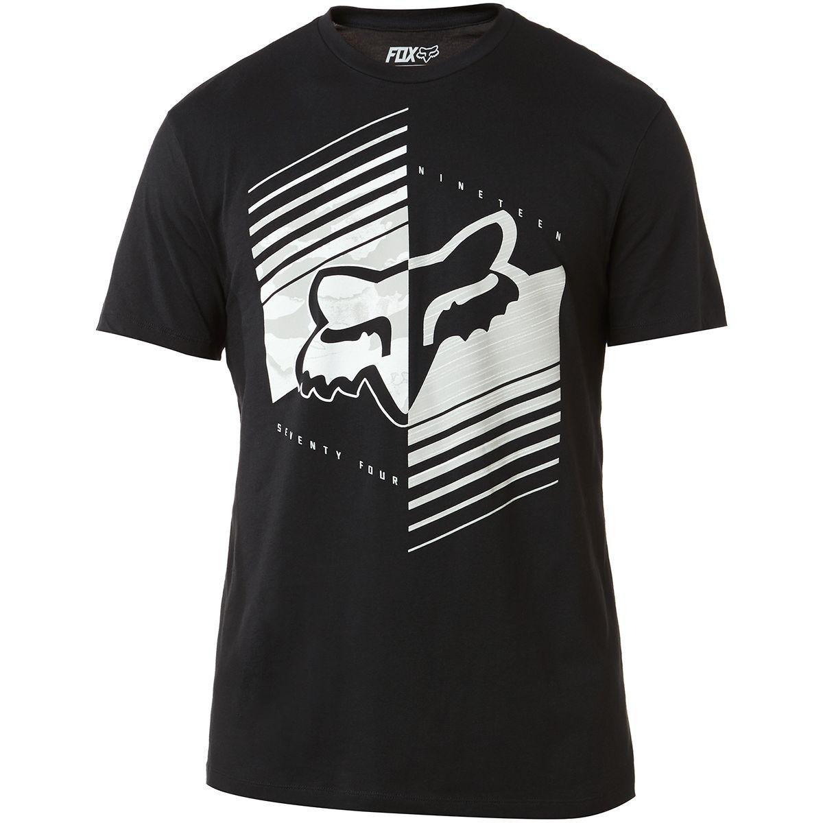 Fox Racing Dirt Burn Short Sleeve Tee - 24242 (Black - XL)…