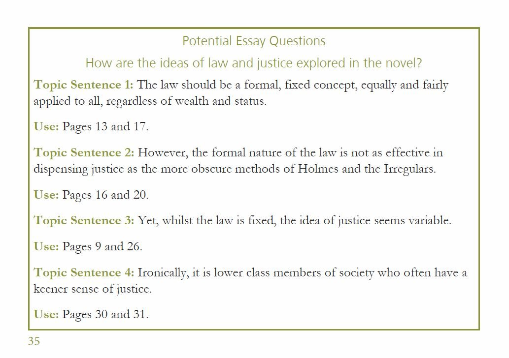 Formal essay page numbers
