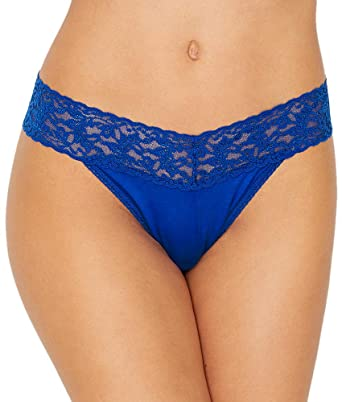 Amazon Hanky Panky Cotton with a Conscience Original-Rise Thong Footlocker Cheap Online 4YM7wukNEq
