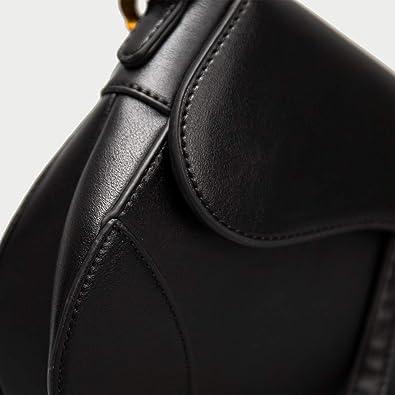 Original Quality Real Leather Mochila Luxury Handbags Women Designer Bags Famous Brand D Bolsa Feminina, black, 20cm by 17cm by 4cm: Handbags: Amazon.com