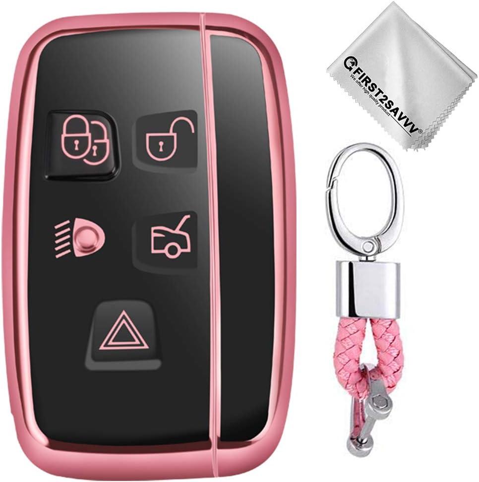 Key Protection Shell Auto Schlüssel Hülle Key Cover Case Etui Silikon Mit Schlüsselanhänger Für Land Rover