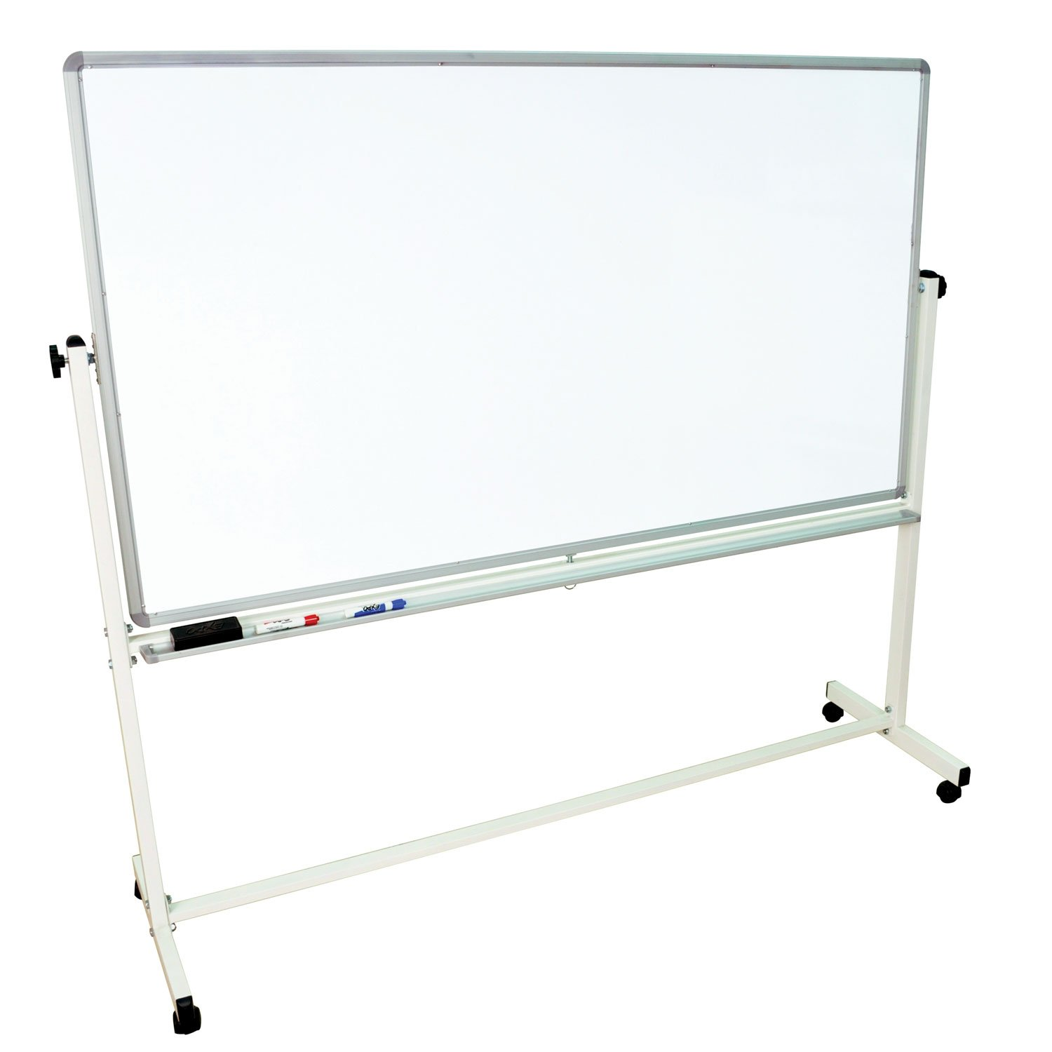 amazon com offex mobile dry erase double sided magnetic whiteboard