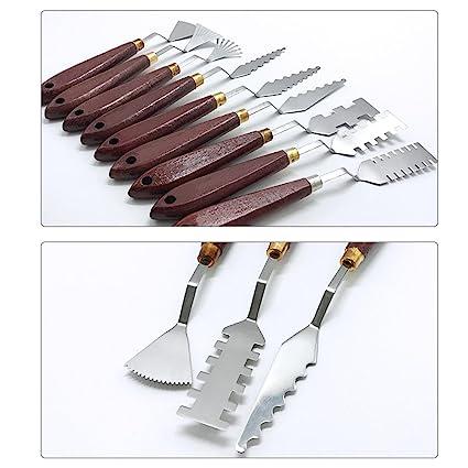 Juego de Cuchillos de Paleta de Acero Inoxidable Awtang ...