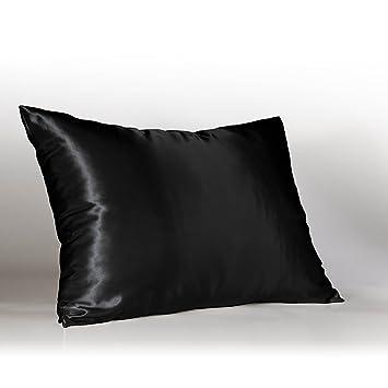 Amazon.com: Sweet Dreams Luxury Satin Pillowcase with Zipper, King ...